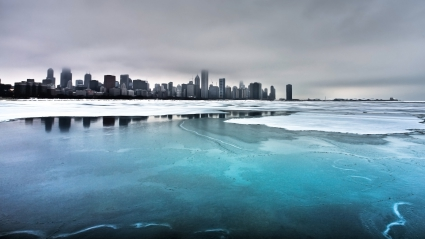 Ice on the Lake