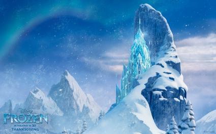 Icecastle in Frozen