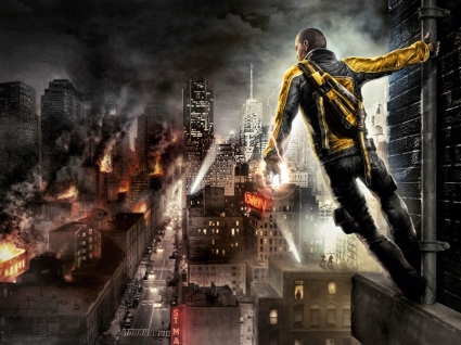 Infamous Wallpaper Infamous Games