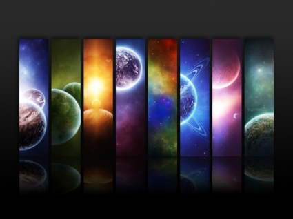 Infinity Wallpaper Space Nature