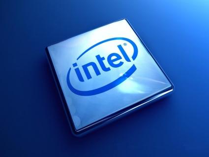Intel logo Wallpaper Intel Computers