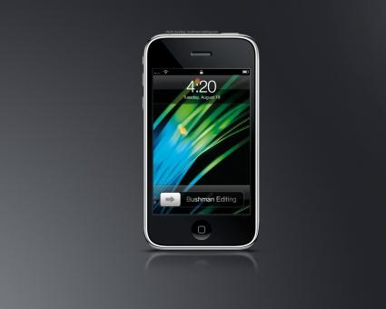iPhone Green Screen