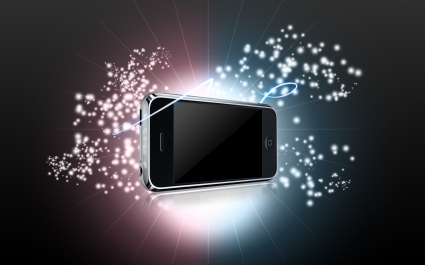 iPhone Stars Widescreen