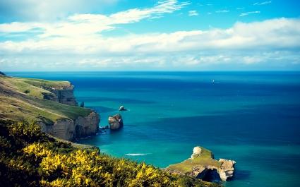 Island Coastal Cliff