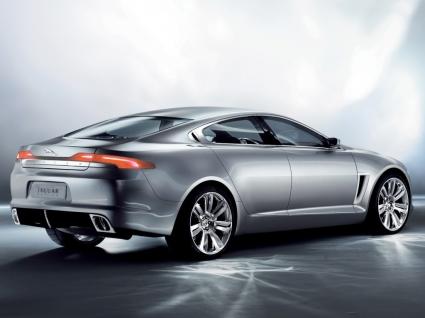 Jaguar C XF Rear Side Wallpaper Concept Cars