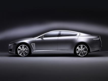 Jaguar C XF Studio Side Wallpaper Concept Cars