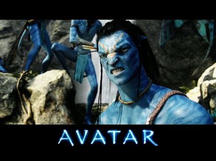 Jake Sully in Avatar