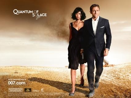 James Bond Quantum of Solace Wallpaper James Bond Movies