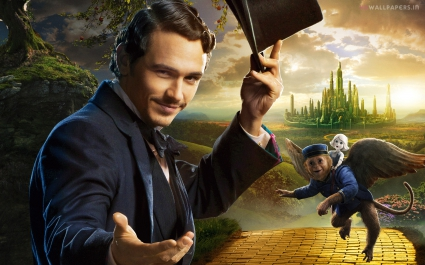 James Franco Oz the Great and Powerful