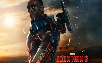 James Rhodes in Iron Man 3