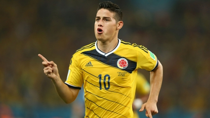James Rodriguez Colombian footballer