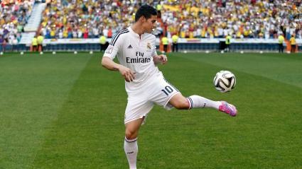 James Rodriguez Football Player