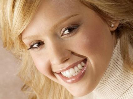 Jessica Alba smile Wallpaper Jessica Alba Female celebrities