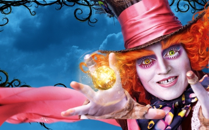 Johnny Depp Alice Through the Looking Glass
