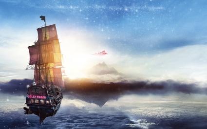 Jolly Roger Pan Pirate Ship