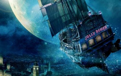 Jolly Roger Ship Peter Pan