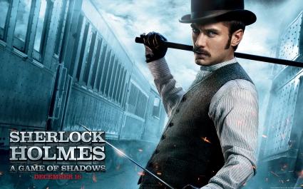 Jude Law in Sherlock Holmes 2