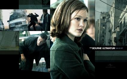 Julia Stiles Wallpaper Bourne Ultimatum Movies