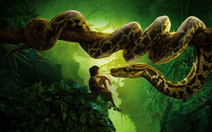 Jungle Book Snake Kaa Mowgli