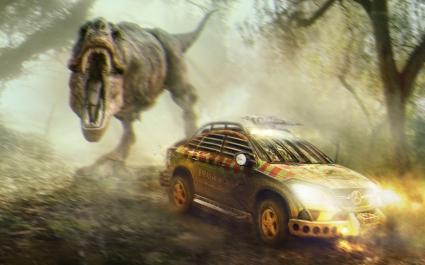 Jurassic World Mercedes Benz GLE Coupe
