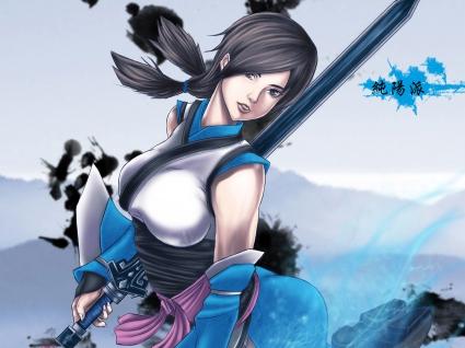 JX Online 3 Girl