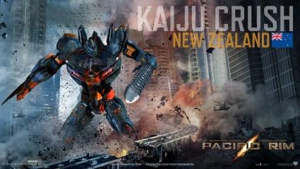 Kaiju Crush in Pacific Rim