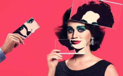 Katy Perry as Elizabeth Taylor