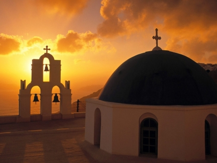 Kimis Theotokov Church Wallpaper Greece World