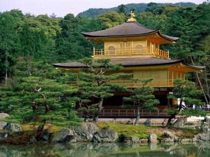 Kinkakuji Temple Wallpaper Japan World