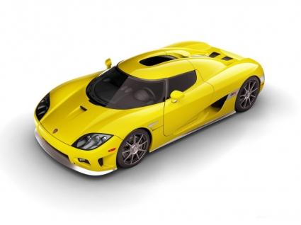 Koenigsegg CCX Yellow Wallpaper Koenigsegg Cars