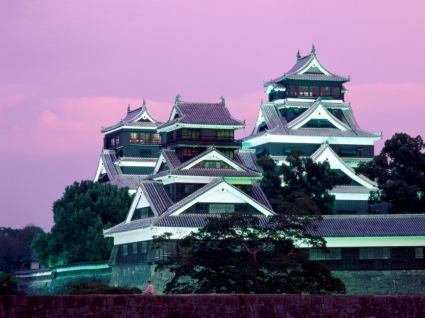 Kumamoto Castle Wallpaper Japan World