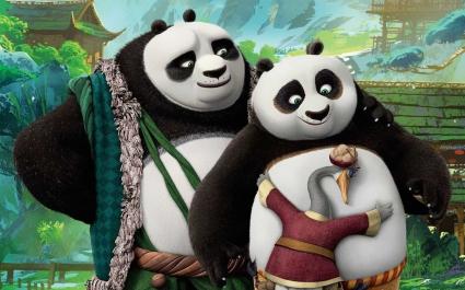 Kung Fu Panda 3 Po's Dads