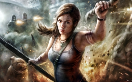Lady Lara Croft