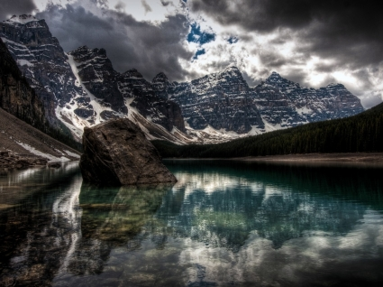 Lake Moraine Wallpaper Canada World
