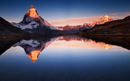 Lake Mountain Reflections