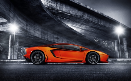 Lamborghini Aventador Sports Car