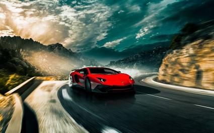 Lamborghini Aventador SV LP750 4 2016