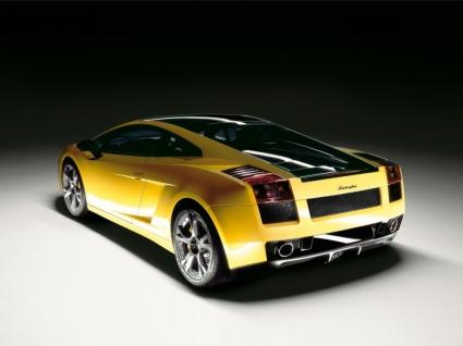Lamborghini Gallardo Rear Wallpaper Lamborghini Cars