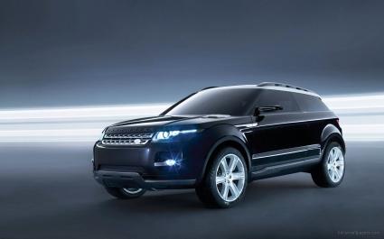 Land Rover LRX Concept Black 5
