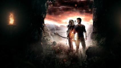 Lara Croft Nathan Drake 4K 5K