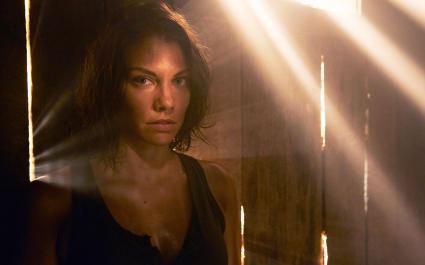 Lauren Cohan in Walking Dead Season 5