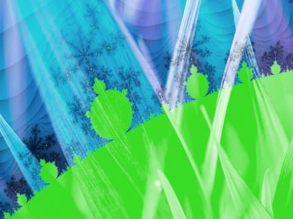 Leaf Fractal Wallpaper Fractal Other