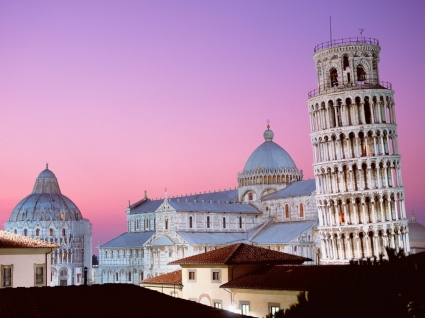 Leaning Tower of Pisa Wallpaper Italy World