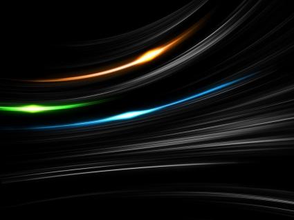 Light Blaze Wallpaper Abstract 3D