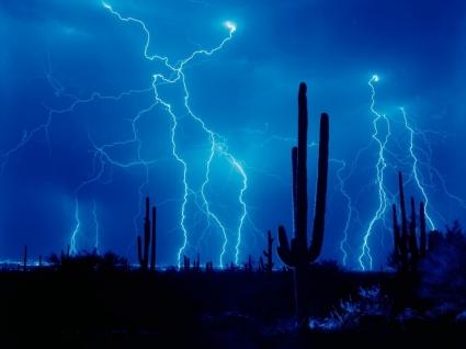 Lightning Wallpaper Thunderstorms Nature