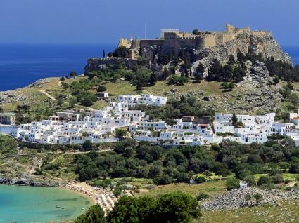 Lindos Wallpaper Greece World