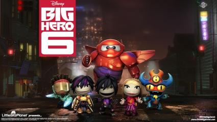LittleBigPlanet 3 Big Hero 6