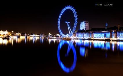 London Eye River Thames