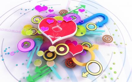 Love 3D Design Widescreen