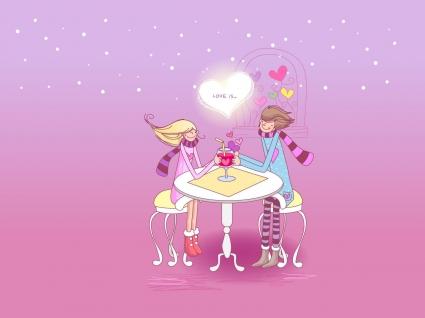 Love Drink Couple
